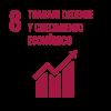 8- Trabajo decente y crecimiento económico
